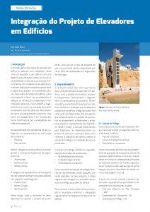 artigo Elevadores em Edifícios
