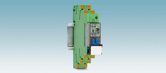 Phoenix Contact: relés eletromecânicos com operação manual