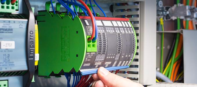F.Fonseca apresenta o distribuidor de corrente inteligente Mico Pro® da Murrelektronik