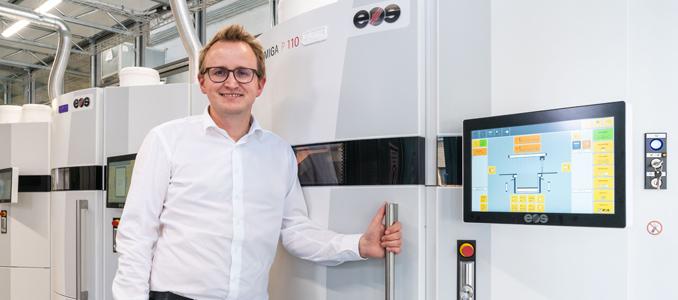 igus triplica a capacidade do serviço de impressão 3D