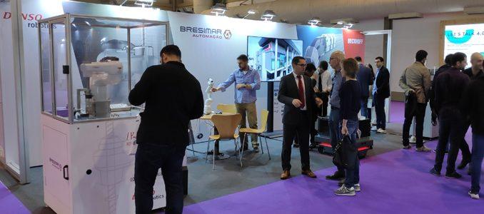 Bresimar Automação apresentou soluções de robótica e automação na 360 Tech Industry