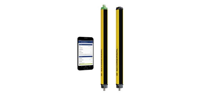 Schmersal lança nova célula ótica de deteção de segurança com interface por Bluetooth