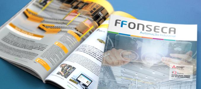 Nova revista F.Fonseca Automação industrial, edição 2019