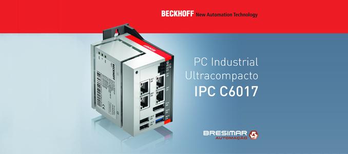 Bresimar Automação: novo PC industrial ultracompacto da Beckhoff