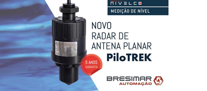 Bresimar Automação disponibiliza o novo radar de antena planar PiloTREK da Nivelco