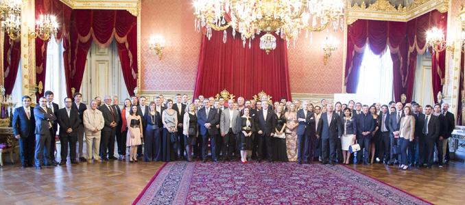 WEIDMÜLLER Portugal celebra 25 anos Jantar de gala no Palácio Nacional da Ajuda