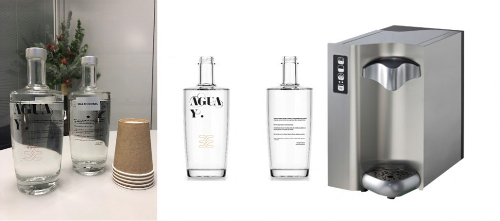 Weidmüller elimina garrafas de plástico