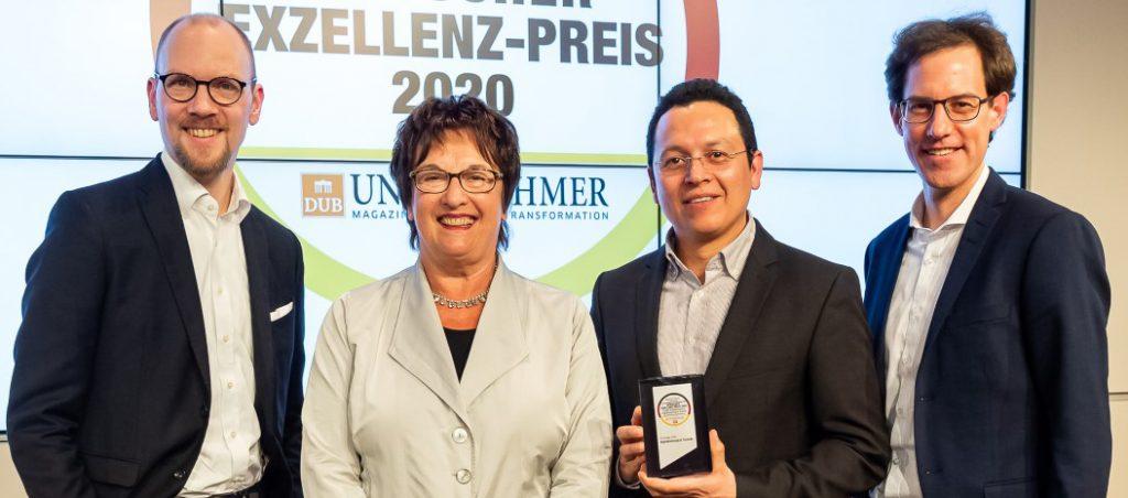 Weidmüller recebe Prémio Alemão de Excelência 2020