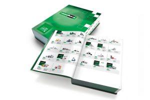 """""""The Big Green Book"""" da norelem contém mais de 60 000 componentes"""