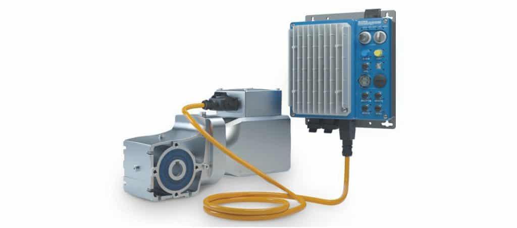Eficiência a um novo nível com motores IE5+ e LogiDrive