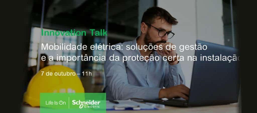 """Webinar """"Mobilidade elétrica: soluções de gestão e a importância da proteção certa na instalação"""""""