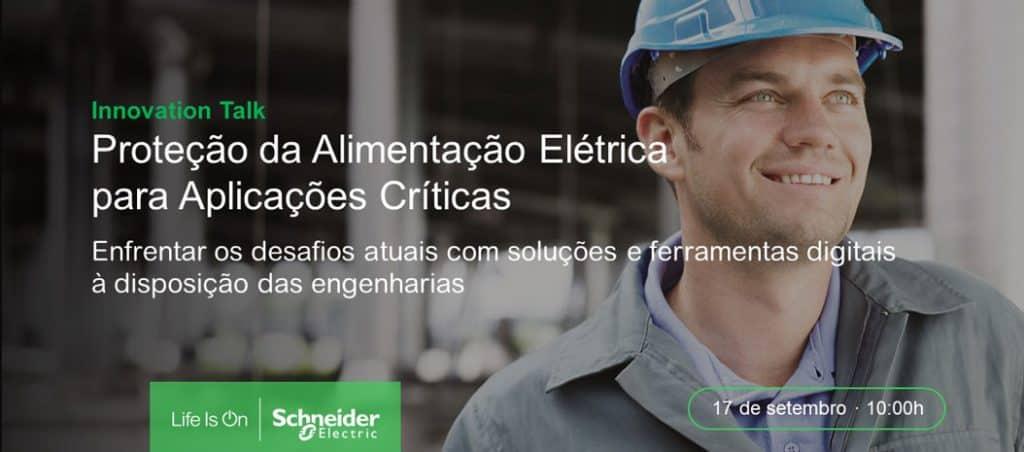 """Webinar """"Proteção da Alimentação Elétrica para Aplicações Críticas"""""""