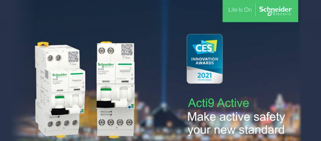 Acti9 Active homenageado nos Innovation Awards da CES 2021