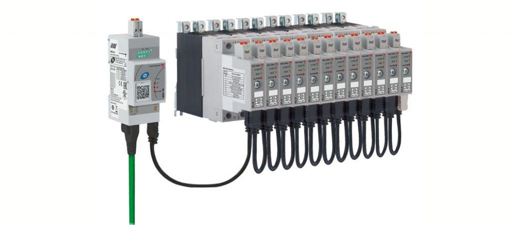 NRG: relés estáticos com interface Profinet e EthetNet/IPTM