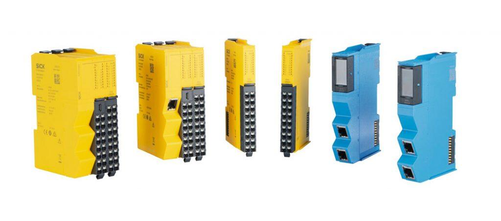 controladores programáveis de segurança Flexi Compact da SICK