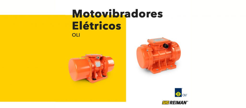 Motovibradores elétricos da OLI